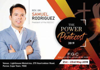 The Power of Pentecost 2019